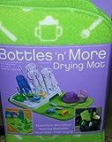 S&T Kitchen Basics Bottles 'n' More Dish Drying Mat 12