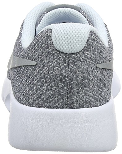 Older Metallic Silver Cool Kids' NIKE Tanjun Sneakers Grey dUSYnxg