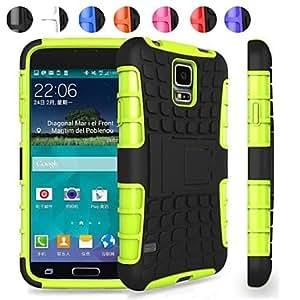 Teléfono Móvil Samsung - Carcasas de Cuerpo Completo/Fundas con Soporte - Diseño Especial - para Samsung Galaxy Mini S5 ( , White