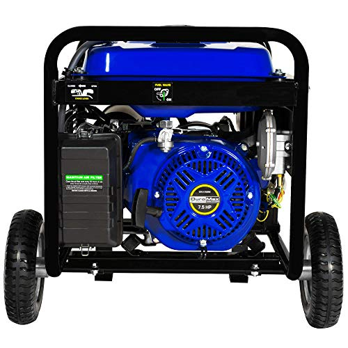 DuroMax XP5500EH 5,500 Watt 7.5 HP Portable Electric Start Dual Fuel Gas/Propane Generator by DuroMax (Image #5)