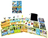 Pokemon Ultimate Gift Pack 50 Cards, 2 Factory Sealed XY Card Packs, 4 Movies, 12 Minifigures