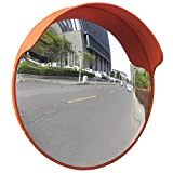 Outdoor Road Traffic Convex PC Mirror Safety & Security, Wide Angle Driveway, 18''