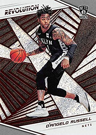 2018-19 Panini Revolution Basketball #72 DAngelo Russell Brooklyn Nets Official NBA