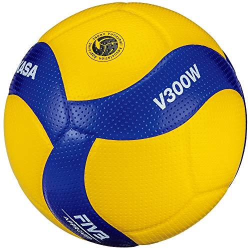 (미카사) MIKASA 배구공 5 호 국제 공인구 고등학교 경기 공 노랑 / 파랑