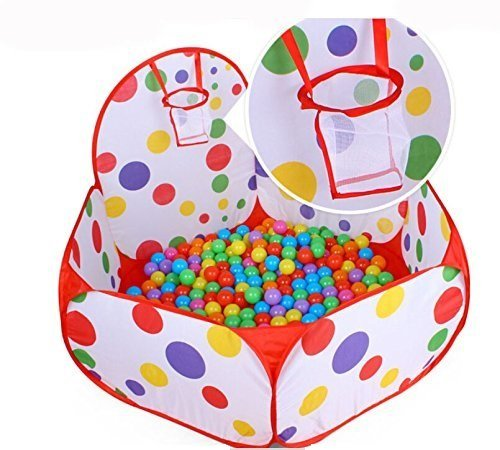 1.2M Portable Hexagon Ocean Ball Pit Pool Toy Tent For Kids - 3