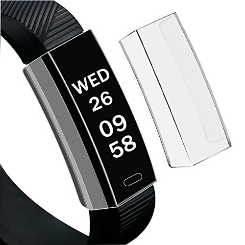 Fitbit Ace Case, Mangix Flexible TPU Slim Durable Soft TPU Protection Silicone Full Protect Case Cover Shield [Stealth Armor] for Fitbit Ace (Clear)