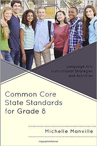 Amazon Common Core State Standards For Grade 8 Language Arts