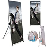 outdoor banner stand - TheDisplayDeal Classical Banner Stand Premium Quality for Heavy Thick Banner (31x71
