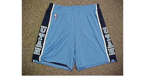 Kyrylo Fesenko Utah Jazz Adidas Game Worn Shorts at Amazon s Sports  Collectibles Store de907f134eb1