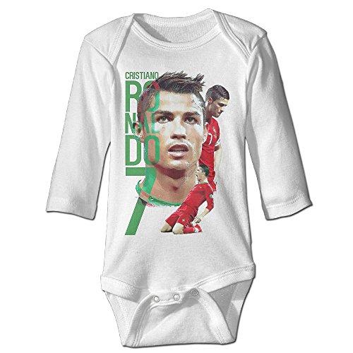 Price comparison product image OULIKE Portagul Cristiano Ronaldo Long Sleeve Baby Climbing Clothes Bodysuit