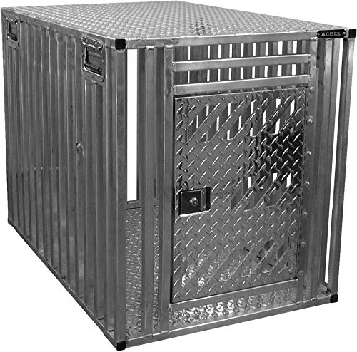 (Activedogs Full Ventilation Aluminum Dog Crate - Xtreme Cage - Chew-Proof)