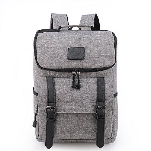 weekend-shopper-lightweight-canvas-leather-travel-backpack-rucksack-school-bag-laptop-backpack-daypa