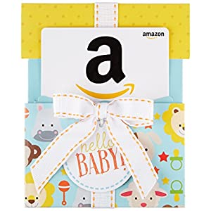 Amazoncom-Gift-Card-in-a-Hello-Baby-Reveal-Classic-White-Card-Design