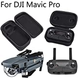 DJI Mavic Pro/Platinum Carrying Case Foldable Drone Body and Remote Controller Transmitter Bag Hardshell Housing Bag Storage Accessory by FSLabs