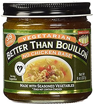 Better Than Bouillon, Vegetarian No Chicken Base, Vegan Certified 8oz Jar