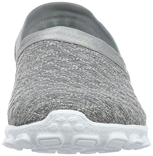 Skechers Ez Flex Bankroll Da Donna Slip On Sneakers Grigie
