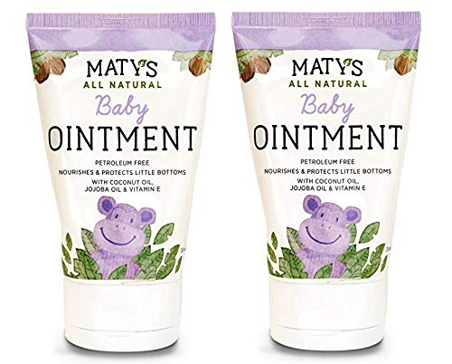 Maty's All Natural Baby Ointment, 3.5 oz (Pack of 2)