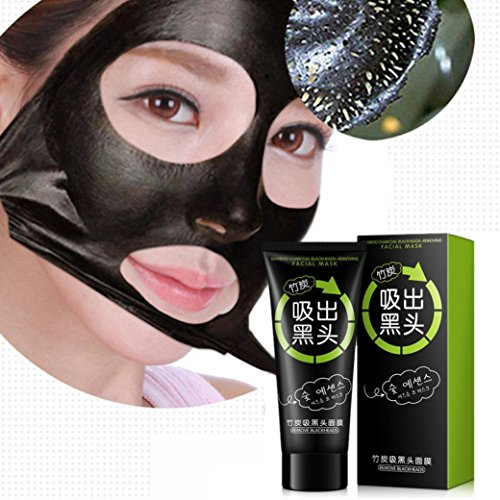 Price comparison product image Fenleo NEW Black Mud Deep Cleansing Pilaten Blackhead Remover Purifying Peel Face Mask