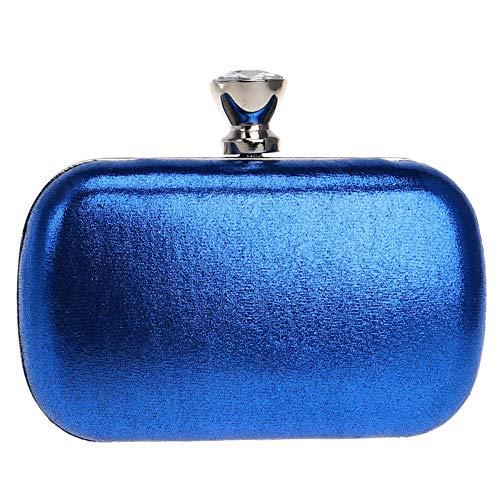 Borsa Frizioni Donna Borsetta Sera Festa Blue Portafoglio Blu Matrimonio Pochette Cerimonia OrOZPxwSq