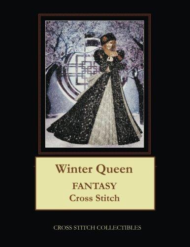 Winter Queen: Fantasy Cross Stitch Pattern