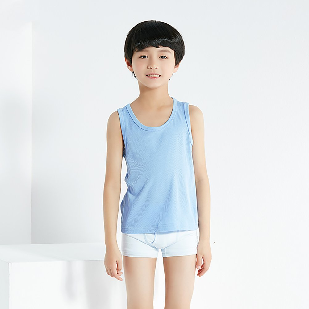 Threegunkids Boys Tank Tops Super Soft 100/% Cotton Value Pack Undershirt Tees 2 Pack
