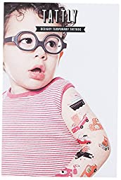 Tattly Temporary Tattoos Animal Drivers Set
