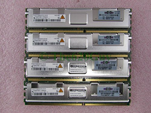 HP Qimonda 8GB (4x2GB) DDR2 PC2-5300 667MHz ECC Server RAM