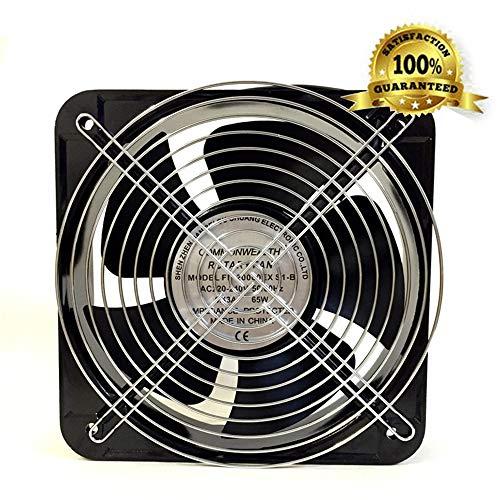 - TECHLINK Commercial Air Blower Industrial Ventilation Extractor Fan Low Noise Exhaust Fans Restaurant Workshop Warehouse Shops Kitchen(180180mm)
