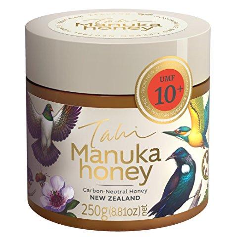 Manuka Honey UMF 10+ eco-friendly, bee friendly, raw, unfiltered, 100% pure New Zealand manuka honey by Tahi (250 gram PET)