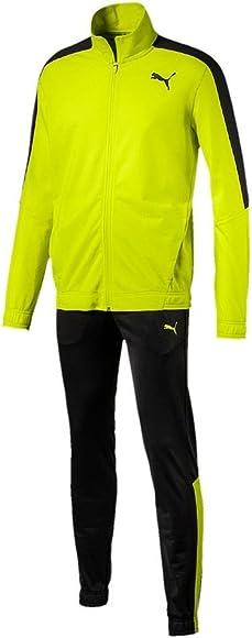 Puma Tech Stripe Tricot Suit Cl - Chándal para hombre, amarillo ...