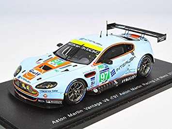 Amazon Com 2014 Aston Martin Vantage V8 Lemans Turner Mucke Senna Toys Games