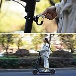 LYXMY-Gancio-per-Monopattino-Xiaomi-in-Lega-Gancio-per-Borse-e-Bagagli-Casco-con-Gancio-Girevole-a-180-Gancio-Anteriore-per-Borsa-e-Scooter-Elettrico-Non-Null-A-Nero-Taglia-Libera