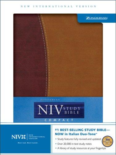 Read Online Zondervan NIV Study Bible, Compact Edition PDF