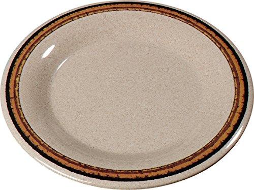 Carlisle 43019908 Durus Wide Rim Pie Plate, 6.5