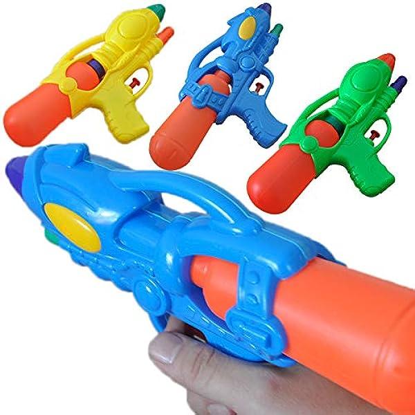 Amazon Com Deerbb 3 Pack Water Gun Summer Toys For Kids Pool Fun Party Favors Lake Small Squirt Gun For Teen Adults Outdoor Beach Game Mini Watershooter Watergun Squirter Random Color Toys