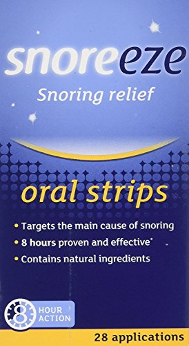 Snoreeze Oral Strips Sachets Pack of 28
