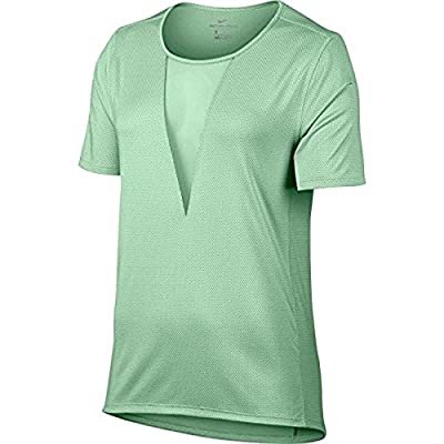 NIKE Women's Plus Size Zonal Cooling Active Top Green 3X