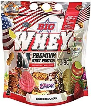 Big Big Whey Concentrado Proteina Fresh Twist 1Kg 300 g ...