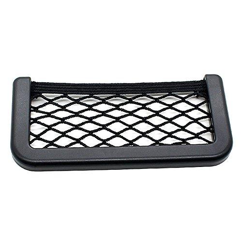 VORCOOL Reti Auto Tasca Portaoggetti auto deposito sacchetto netto telefono titolare tasca Organizer 17 x 8cm - 1 pezzo