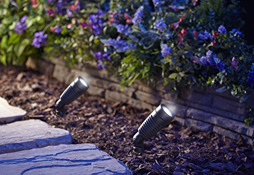 Moonrays 95557 1 Watt Led Outdoor Landscape Metal Spot