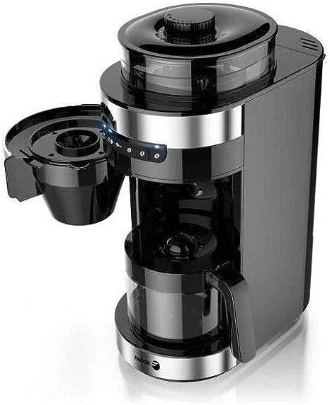 FAGOR FG201 Cafetiere filtre avec broyeur a café: Amazon.es: Hogar