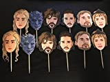Game Of Thrones Cupcake Toppers/GOT/Games Of Thrones Party Supplies/Game Of Thrones Party Theme/Game Of Thrones Inspired