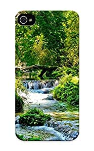 Appearance Snap-on Case Designed For Iphone 6 plus 5.5- Rapid Stream In The Forest (best Gifts For Lovers)