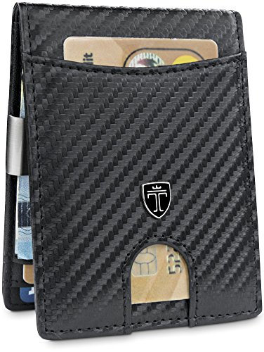 Men Card Blocking Seattle with Bifold TRAVANDO Money Slim RFID Wallet Mini Clip POC7q