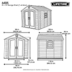 LIFETIME-6405-Storage-Shed-with-1-Window-Desert-Sand-8-x-10-ft