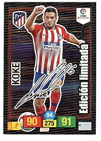 Adrenalyn XL Card Firmada Koke (At. Madrid) Liga 2018 2019 ...