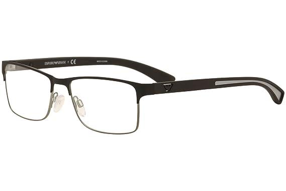 5a0e6f91 Armani EA1052 Eyeglass Frames 3094-Black Rubber/matte ...