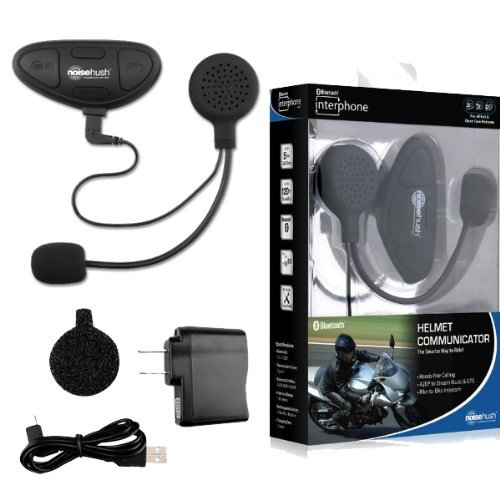 Bluetooth Motorcycle Helmet Kit for Samsung Galaxy Note 3, Note 2, S3, S4, S4 active, Skyrocket, Infuse, Hercules t989, Epic Touch, S2, Nexus, Rugby, Convoy.