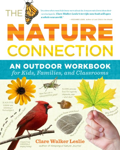 The Nature Connection: An Outdoor Workbook for Kids,