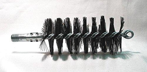 - Flue Brush, Dia 2 1/4, 1/4 MNPT, Length 8